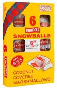 tunnock's 6 pack of snowballs at Iceland 89p