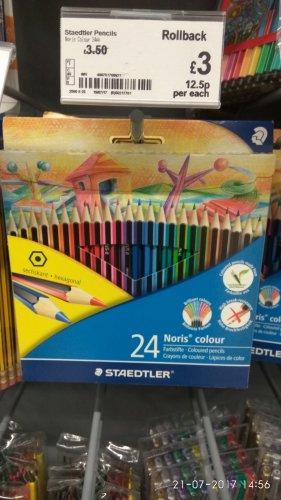 Staedtler Noris coloring pencils £3 instore @ Asda