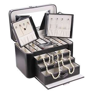 5 Different Rowling Large Jewellery Boxes £9.99 each with free delivery for Prime (not sure how much delivery is for non-prime but links for all boxes in description & first post) @ Amazon