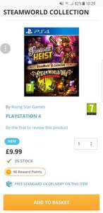 STEAMWORLD COLLECTION PS4 £9.99 @ The game collection