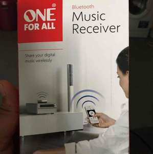 one for all Bluetooth audio receiver £10 @ Sainsbury's Richmond