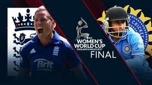 England V India ICC Womens Cricket WC Final 23/07/17@ Sky Sports Mix