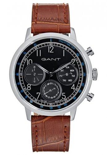 GANT CALVERTON - Watch - silberfarben/braun 70% off was £139.99 - £42  Free Standard Delivery @ Zalando