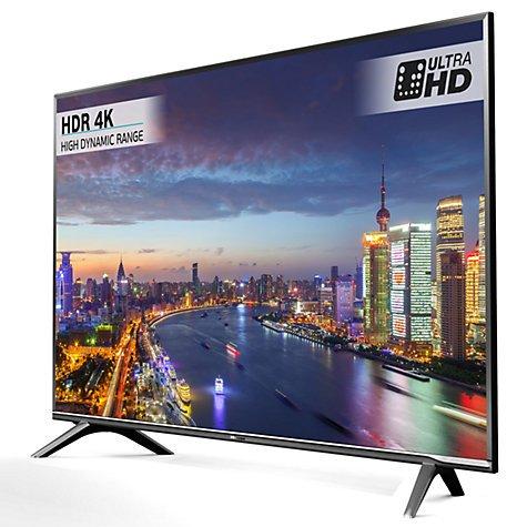 """Hisense 43"""" 4K TV - 5 year guarantee £469 @John Lewis H43N5700"""