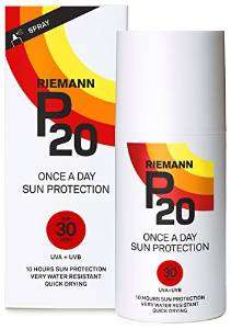 Riemann P20 Once a Day 10 Hours Protection SPF30 Sunscreen 200ml £10.00 Amazo Prime £9.50 with Subscribe & Save