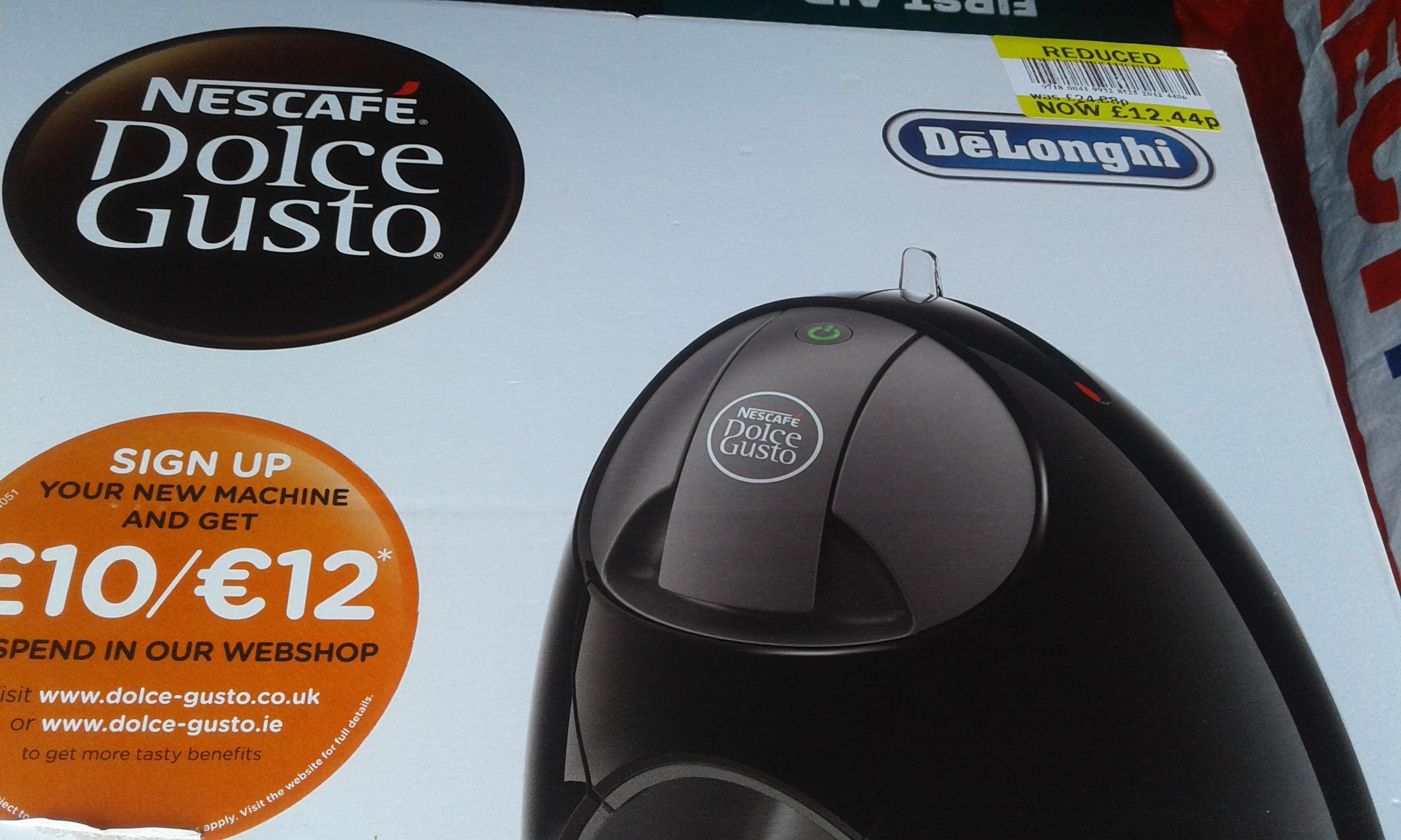 Nescafe Dolce Gusto Jovia machine £12.44 @ Tesco Thetford
