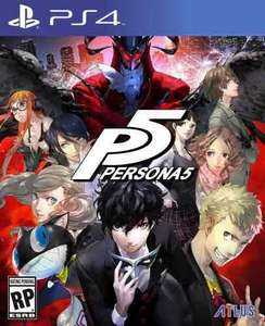 Persona 5 PS4 £34.99 - Prime Now (New customers code)
