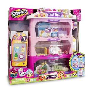 Shopkins Tall Mall Playset £25.99 @ Amazon (Free delivery for Prime members) 2 - 5 week wait for dispatch