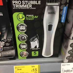 Wahl Pro Stubble Trimmer £15 - ASDA, Milton Keynes