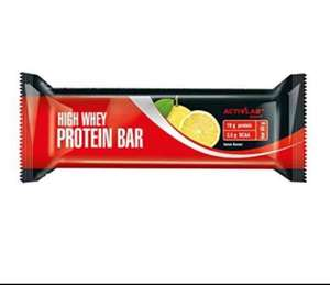 Activlab whey protein bars 24x 80g bars £5.93 at Amazon