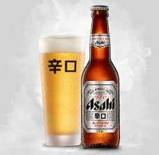 Ashahi Japanese beer 600ml £1.29 Lidl Glasgow