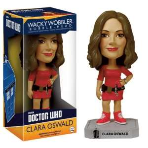 Doctor Who Clara Oswald Wacky Wobbler Bobble head 39p Instore @ Home Bargains