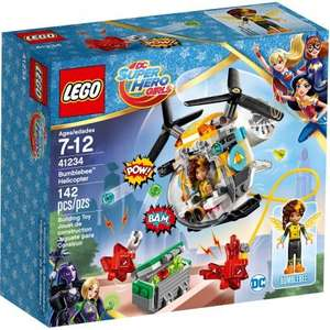 LEGO DC Super Hero Girls Bumblebee Helicopter Chase £5.98 @Toys R Us/Amazon