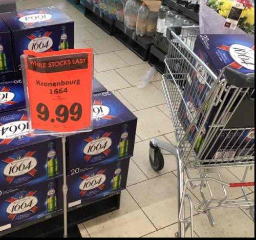 Kronenbourg 1664 5% 20 x 275ml bottles £9.99 @ Lidl
