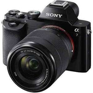 Sony A7 Full Frame Digital Camera with 28-70mm Lens + Extended Warranty (£833 with cashback) @ Wex