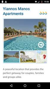 From Manchester: 1 Week Family of 3 Holiday to Crete 25/07-01/08 £566.29 £188.76pp @ Olympic Holidays