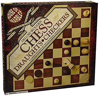 House of marbles wooden chess set£4.93 Prime / £9.68 Non Prime @ Amazon