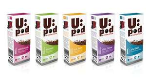 U:Pod Nespresso Compatible Coffee & Tea Capsules from 13p each (£1.32 for 10) @ Morphy Richards + Free p&p over £12 + 10% tcb