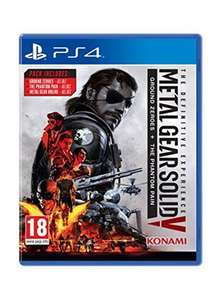 (PS4) Metal Gear Solid V The Definitive Experience £13.85 delivered @ Base