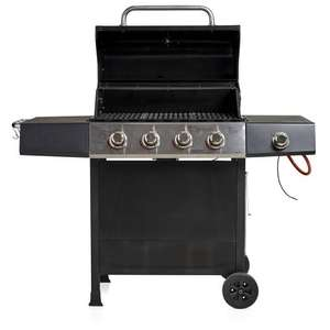 Wilko Gas Barbecue 4 Burner+1side burner £125 @ wilko (in store only)
