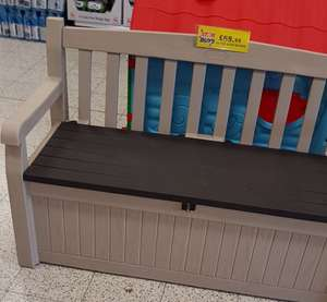 Keter Eden bench £69.99 @ home bargains