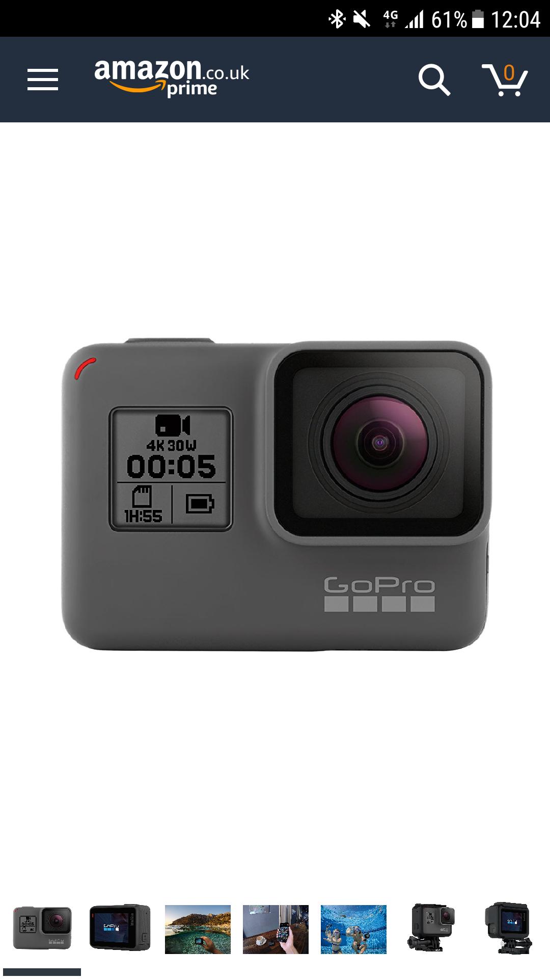 GoPro HERO5 £334.28 @ Amazon