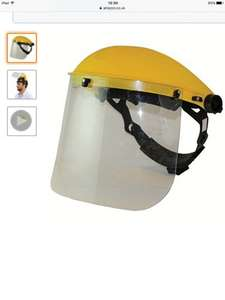 Silverline 140863 Face Shield / Visor £4.59 prime / £8.58 non prime @ Amazon. lowest price it's been according to camel camel