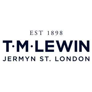4 shirts from £63.00 click & collect / £68.95 delivered at TM Lewin & 5.25%