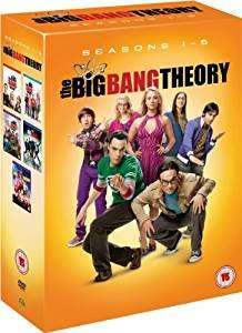 The Big Bang Theory (Season 1-5) Pre-owned - £2.68 at Amazon sold by OnlineMusicFilmsGames