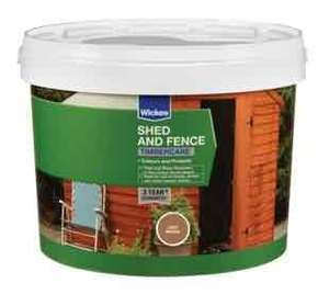 Wickes Shed & Fence Timbercare various colours 6L £2.49 @ Wickes C&C