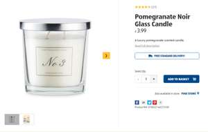 ALDI are selling a what 'Good Housekeeping' calls a Jo Malone STYLE Pomegranate Noir Candle £3.99 available instore only at ALDI