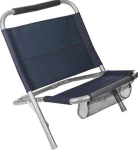Halfords Camping / Hiking / Fishing Travel Low Folding Chair £4 @ Halfords Ebay (Free C&C)