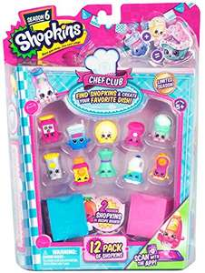 Shopkins Season 6 (12 Pack)  £6.39 Sold by YUK and Fulfilled by Amazon / £10.38 non-Prime