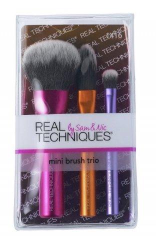 Real Techniques Mini Brush Trio £5.99 @ Argos (C&C) / Amazon