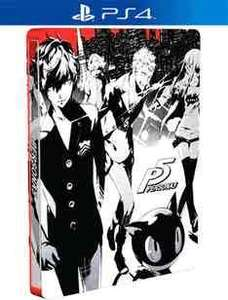 Persona 5 steelbook edition (PS4) £39.99 used @ Grainger games