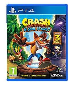 Crash Bandicoot N. Sane Trilogy (PS4) - £27.29 Amazon