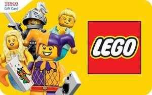 Collect 1000 extra Clubcard points when you spend £60 or more on LEGO Toys @ Tesco