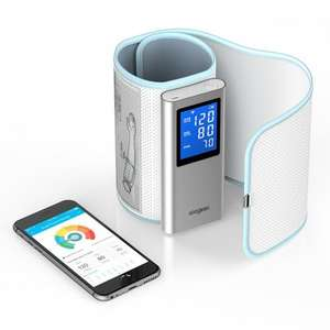 Koogeek Wireless Blood Pressure Monitor Cuff with Heart Rate Detection, Bluetooth Wifi BP Machine - £32.99 with code at Amazon sold by Home Victory