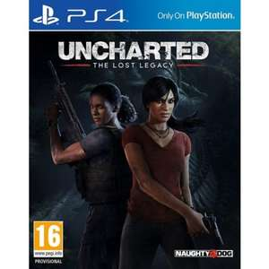 Uncharted: The Lost Legacy (£24.25 - TheGameCollection) use code 'FIREFLOWER' w/ Jak and Daxter Pre-order Bonus