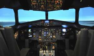 737 Flight simulator experience (London) from £45 **Now £35 with code** @ Groupon