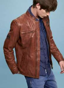 Pepe Jeans Leather Jacket £245 down to £98!!