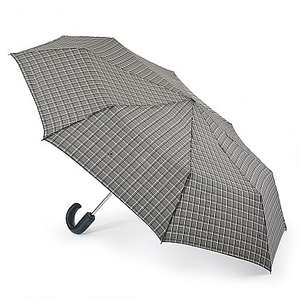 Fulton Automatic Open & Close-12 Umbrella - Grey Windowpane £12.60 / £17.60  delivered @ Fultonsumbrellas