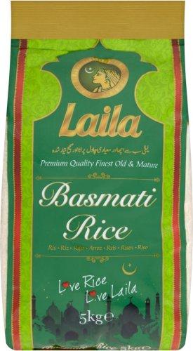 Laila Basmati Rice (5kg) was £11.00 now £5.50 (Rollback Deal) @ Asda