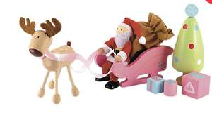 Father Christmas dolls house set £3.50 elc online - Free c&c