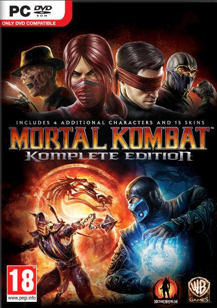 Mortal Kombat Komplete Edition PC £1.49 @ CDKEYS