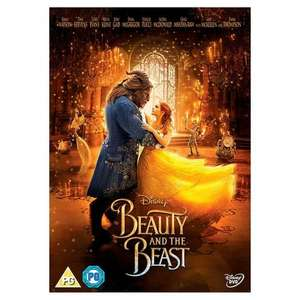 Beauty & The Beast (Live Action) DVD (PG) 10p @ Morrisons