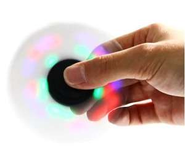 Light Up Fidget Spinner | 76p @ Gearbest