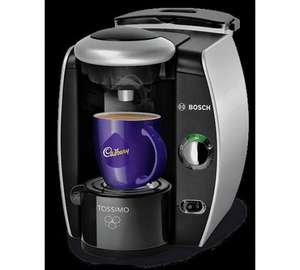 Tassimo by Bosch Fidelia T40 Hot Drinks Machine - Silver Only £54.99 @ Argos