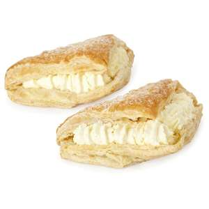Morrisons Fresh Cream Apple Turnovers (2) was £1.50 now any 2 packs for £2.00 (Mix and Match available) @ Morrisons