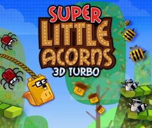 Super Little Acorns 3D Turbo download code for 3DS for 50 Gold Points.